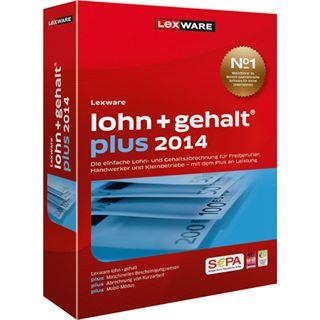 Lexware Lohn + Gehalt Plus 2014 32/64 Bit Deutsch Finanzen Vollversion PC (CD)