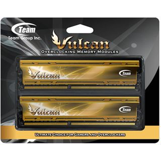 16GB TeamGroup Vulcan Series gold DDR3-2400 DIMM CL11 Dual Kit