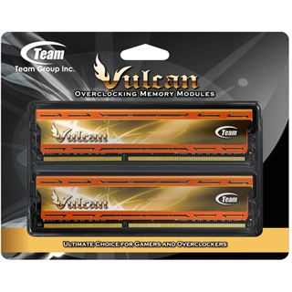 16GB TeamGroup Vulcan Series orange X.M.P. DDR3-2400 DIMM CL11 Dual