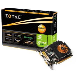 1GB ZOTAC GeForce GT 630 Synergy Edition Aktiv PCIe 2.0 x16 (Retail)