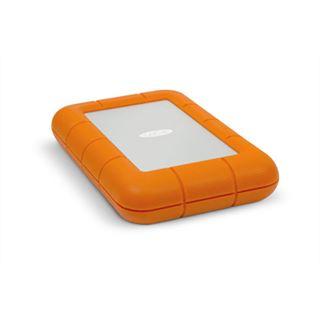 """2000GB LaCie Rugged 9000299 2.5"""" (6.4cm) USB 3.0/Thunderbolt orange/grau"""