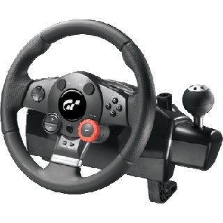 Logitech Driving Force GT USB schwarz PC/PS2/PS3