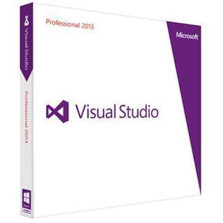Microsoft Visual Studio 2013 Professional 32/64 Bit Englisch Grafik