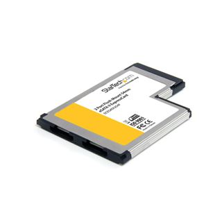 Startech ECESATA254F 2 Port Express Card 54 retail