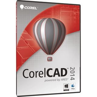Corel CorelCAD 2014 32/64 Bit Multilingual Grafik EDU-Lizenz PC/Mac (DVD)