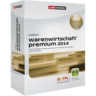 Lexware Warenwirtschaft Premium 2014 32/64 Bit Deutsch Finanzen Vollversion PC (CD)