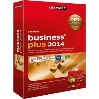 Lexware Business Plus 2014 32/64 Bit Deutsch Finanzen Vollversion PC (CD)
