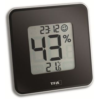 TFA 30.5021.01 Style Digitales Thermo-Hygrometer schwarz