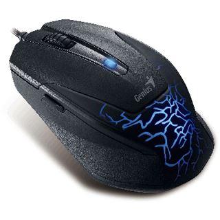 Genius X-G500 USB schwarz mit Muster (kabelgebunden)
