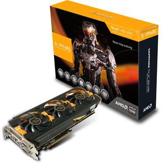 4GB Sapphire Radeon R9 290 Tri-X OC Aktiv PCIe 3.0 x16 (Full Retail)