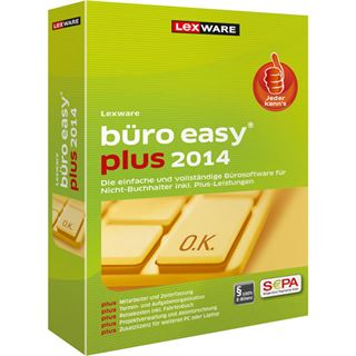 Lexware Büro easy plus 2014 32/64 Bit Deutsch Finanzen Vollversion PC (CD)