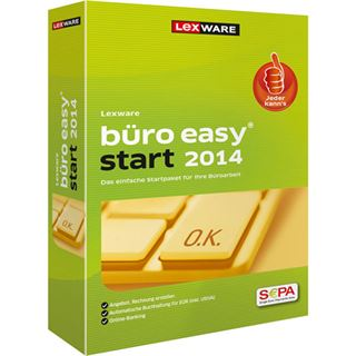 Lexware Büro easy start 2014 32/64 Bit Deutsch Finanzen