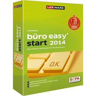 Lexware Büro easy start 2014 32/64 Bit Deutsch Finanzen Vollversion PC (CD)