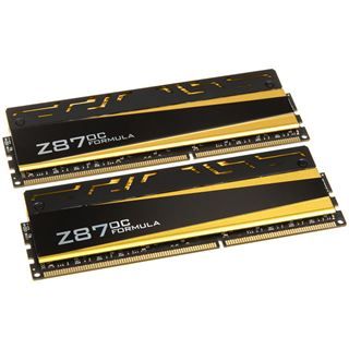 8GB Avexir Blitz Series Yellow LED OC-Formula DDR3-2400 DIMM CL10 Dual Kit