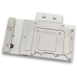 EK Water Blocks EK-FC780 GTX HOF - White Acetal+Nickel Full Cover VGA