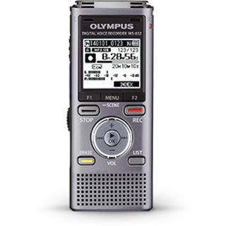 OLYMPUS WS-832 Audio Recorder grau