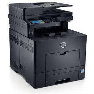 Dell C2665dnf Farblaser Drucken/Scannen/Kopieren/Faxen LAN/USB 2.0/NFC