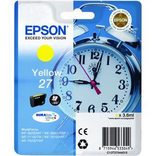 Epson Tinte 27 C13T27044010 gelb
