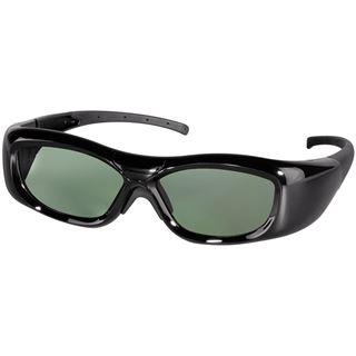Hama 3D-Shutterbrille, universell, für IR und RF 3D TVs, Schwarz
