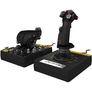 Saitek Pro Flight X-55 Rhino H.O.T.A.S. System USB schwarz PC