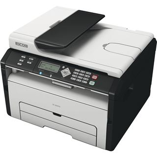 Ricoh SP 204SFNw S/W Laser Drucken/Scannen/Kopieren/Faxen LAN/USB 2.0/WLAN