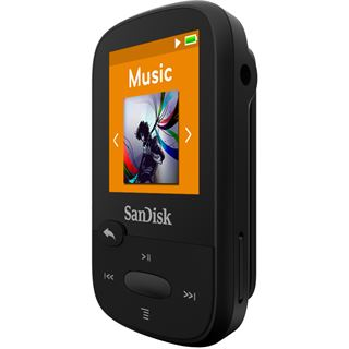 8GB SanDisk Sansa Clip Sport schwarz