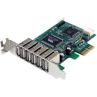 Startech PEXUSB7LP 7 Port PCIe x1 retail
