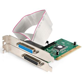 Startech PCI2PECP Parallel 2 Port PCI Low Profile/zweites Slotblech