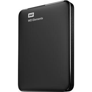 """750GB WD Elements Portable WDBUZG7500ABK-EESN 2.5"""" (6.4cm) USB 3.0 schwarz"""