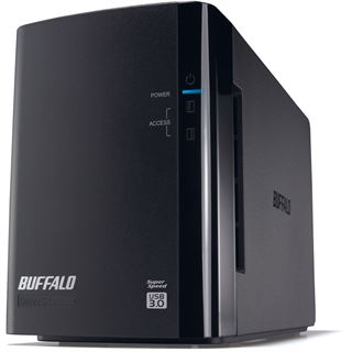 "4000GB Buffalo DriveStation Duo HD-WL4TU3R1-EB 3.5"" (8.9cm) USB 3. schwarz"
