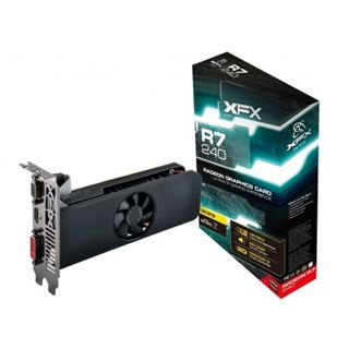 4GB XFX Radeon R7 240 Core Edition LP Aktiv PCIe 3.0 x16 (Retail)