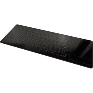 i.onik Wireless Glass Keyboard Deutsch schwarz (kabellos)