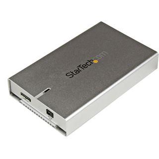 "Startech S2510SM12U33 2.5"" (6,35cm) USB 3.0 silber"