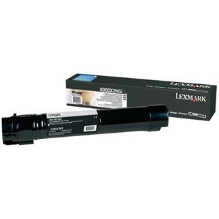 Lexmark XS955de Tonerkartusche schwarz Standardkapazität 32.000 Seiten 1er-Pack Return Programme