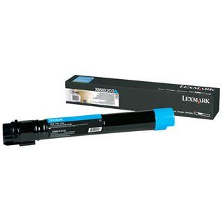 Lexmark XS955de Tonerkartusche cyan 22.000 Seiten Return Programme