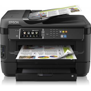 Epson WorkForce WF-7620DTWF Tinte Drucken/Scannen/Kopieren/Faxen