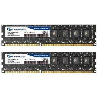 16GB TeamGroup Elite Series DDR3L-1600 DIMM CL11 Dual Kit