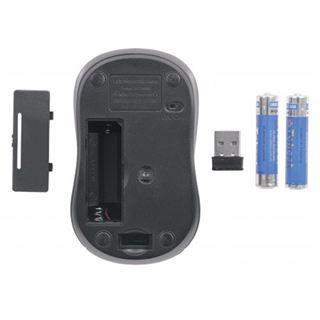 Manhattan 178785 USB schwarz (kabellos)