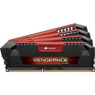 16GB Corsair Vengeance Pro Series rot DDR3-2133 DIMM CL8 Quad Kit