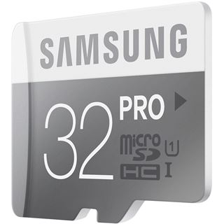 32 GB Samsung Pro microSDHC UHS-I Retail inkl. Adapter auf SD