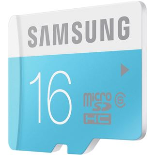 16 GB Samsung Standard microSDHC Class 6 Retail inkl. Adapter auf SD