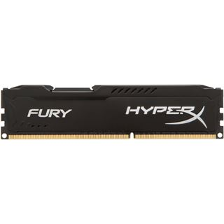16GB HyperX FURY schwarz DDR3-1600 DIMM CL10 Dual Kit