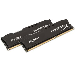 16GB HyperX FURY schwarz DDR3-1866 DIMM CL10 Dual Kit