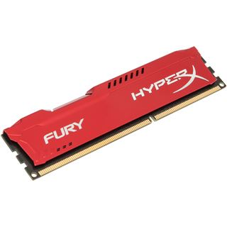 4GB HyperX FURY rot DDR3-1866 DIMM CL10 Single