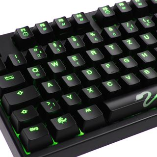 Ducky Shine 3 grüne LED MX Brown CHERRY MX Brown USB Deutsch