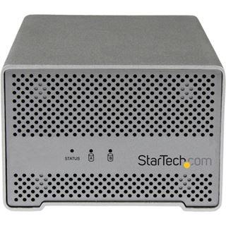 """Startech S252SMTB3 2.5"""" (6,35cm) Thunderbolt silber"""