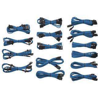 Corsair AX/AXi/CXM/HX/TX-M blaues Kabelkit für Netzteile