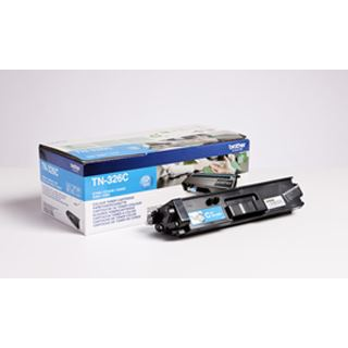 Brother Toner TN-326C Cyan (ca. 3500 Seiten)
