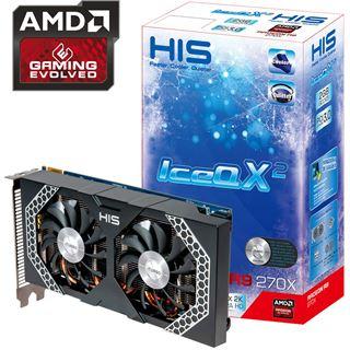 2GB HIS Radeon R9 270X Mini IceQ X² Boost Clock Aktiv PCIe 3.0 x16 (Retail)