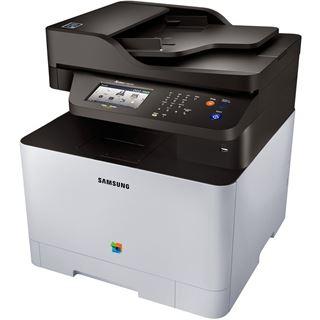 Samsung Xpress C1860FW Farblaser Drucken/Scannen/Kopieren/Faxen LAN/USB 2.0/WLAN/NFC